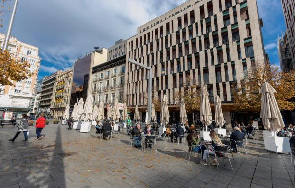 Plaza de España en Zaragoza