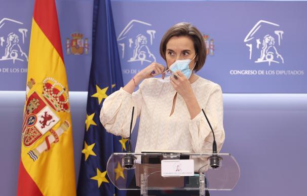 La portavoz del PP en el Congreso de los Diputados, Cuca Gamarra