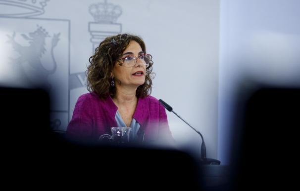 María Jesús Montero, ministra de Hacienda portavoz del Gobierno