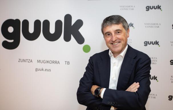 Jon Ander de las Fuentes, presidente de Guuk y ex directivo de Euskaltel.