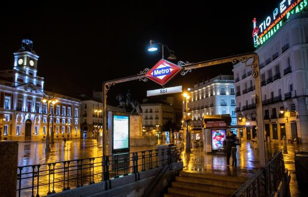 Madrid coronavirus toque de queda estado de alarma Puerta del Sol