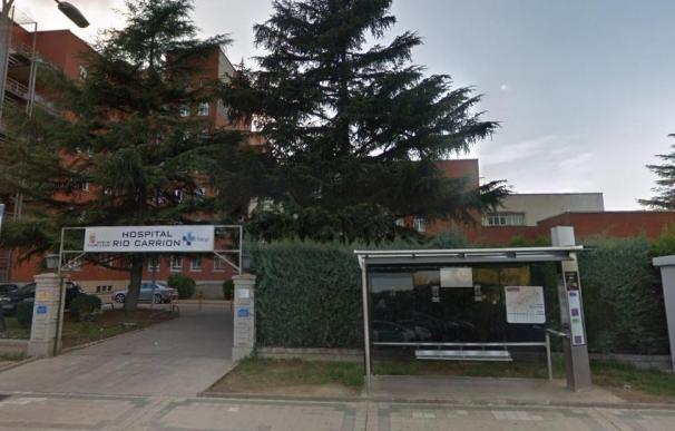 Entrada al hospital Río Carrión