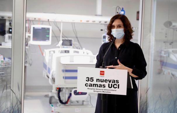 Ayuso blindará el hospital de pandemias con los refuerzos que contrató para el SERMAS
