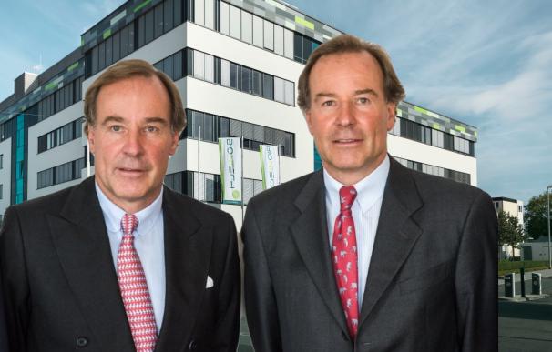 Los hermanos Thomas y Andreas Strüngmann, fundadores de Biontech.