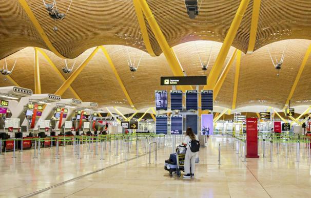 Aena aeropuerto Madrid Barajas
