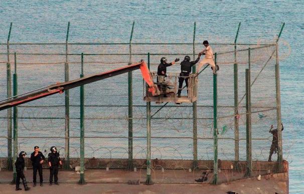 Devolución en caliente Ceuta