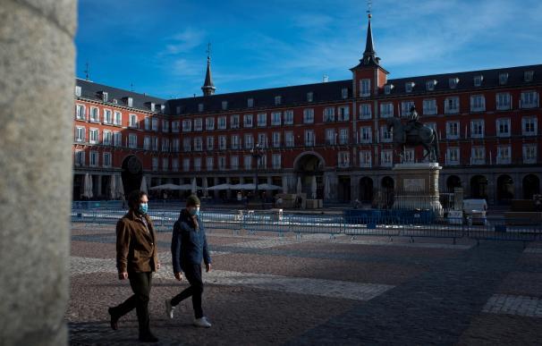 Madrid coronavirus Plaza Mayor
