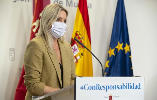 La coordinadora de Ciudadanos en Murcia, Ana Martínez Vidal