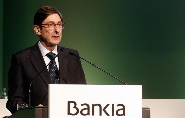 José Ignacio Goirigolzarri, junta de accionistas de Bankia