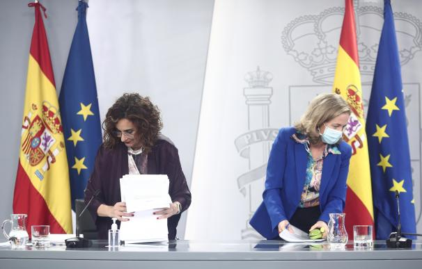 María Jesús Montero Nadia Calviño