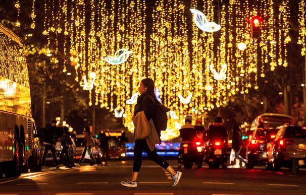 Navidad luces Barcelona coronavirus