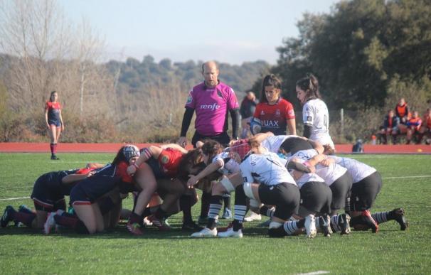 El equipo de rugby femenino de Majadahonda parte como uno de los más fuertes de la liga.