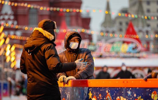 Coronavirus en Moscú, Rusia.