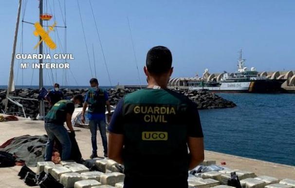 Guardia Civil participa en la mayor operación internacional contra narcotráfico, con 280 toneladas de cocaína incautadas