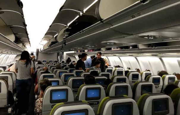 TAP avión interior