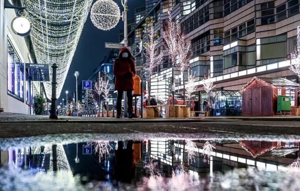 Coronavirus Alemania compras Navidad luces