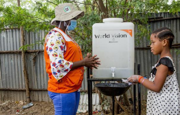 Lavado de manos Kenia