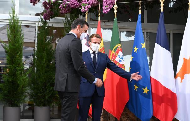 Pedro Sánchez Emmanuel Macron