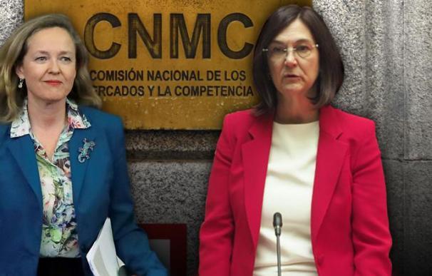 Nadia Calviño y Cani Fernández