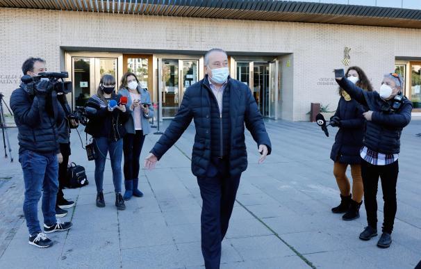 Fernando Roig a su salida de los juzgados