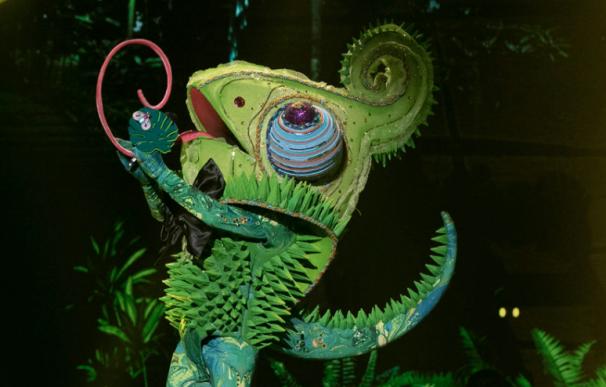 Descubierto el Camaleón de 'Mask Singer'