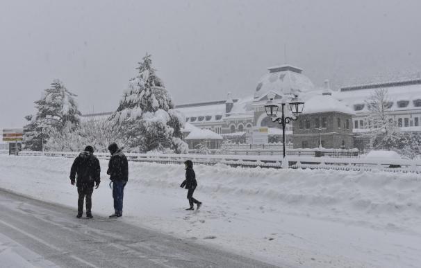 Nieve Pirineo Aragón borrasca Bella