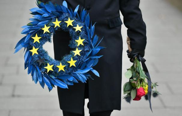 Brexit corona bandera Unión Europea UE