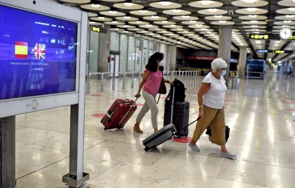 Turismo aeropuerto Barajas coronavirus