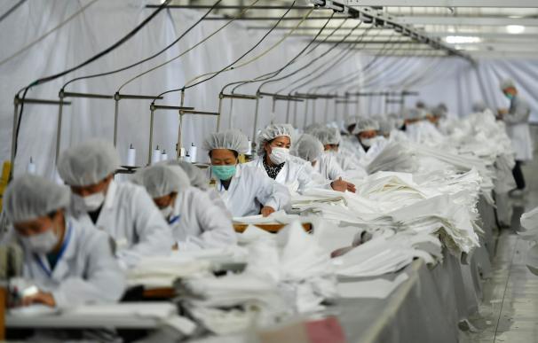 China trabajadores covid