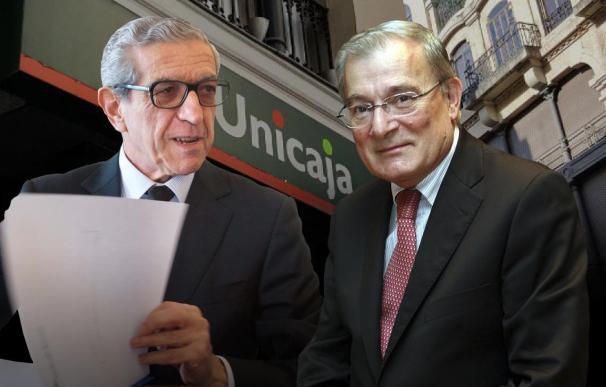Braulio Medel (izqda) ha hecho valer su ascendente en Unicaja tras una dura pugna con Manuel Azuaga