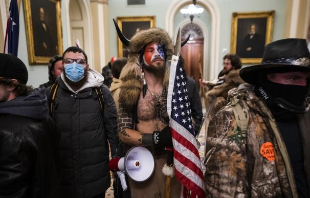 Los seguidores de Trump que asaltaron el Capitolio de EEUU el pasado 6 de enero.