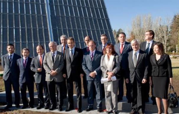Filomena arrasa La Moncloa y destroza la planta fotovoltaica que construyó ZP