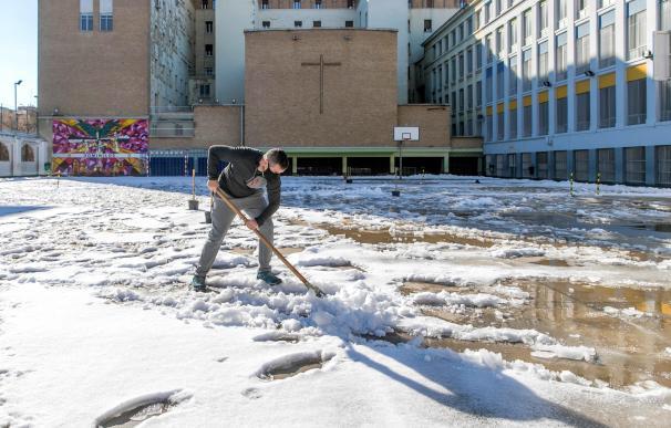 Colegio nieve Madrid