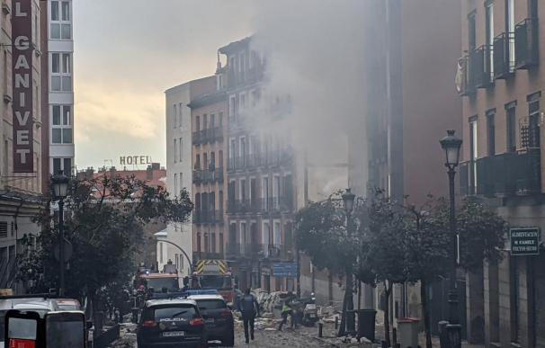 Explosión Puerta de Toledo