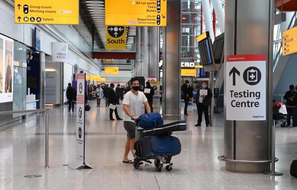 Reino Unido aeropuerto