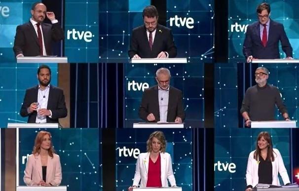 Debate elecciones Cataluña 31/1/2021
