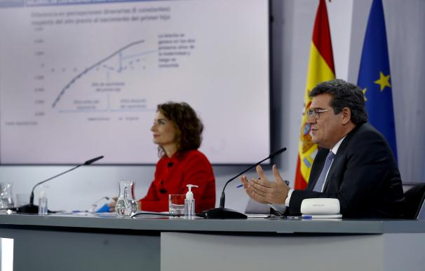 María Jesús Montero y José Luis Escrivá, consejo de Ministros