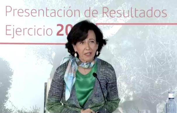 Ana Botín, Banco Santander, presentación resultados
