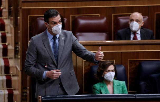 Pedro Sánchez sesión de control Congreso de los Diputados
