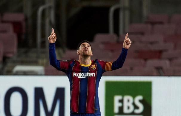 El jugador del FC Barcelona, Leo Messi