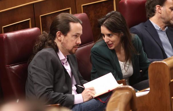 Pablo Iglesias e Irene Montero, de nuevo en el foco de la polémica.