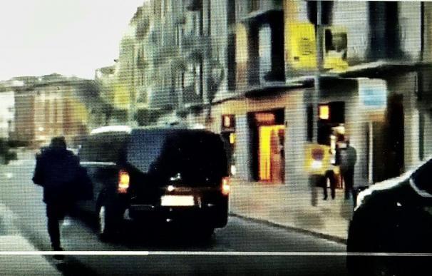 Pantallazo de un vídeo en Twitter publicado por Ortega Smith.
