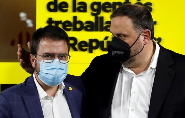 Junqueras y Pere Aragonès