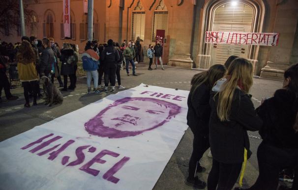 Libertad para Pablo Hasel, Universidad de Lleida