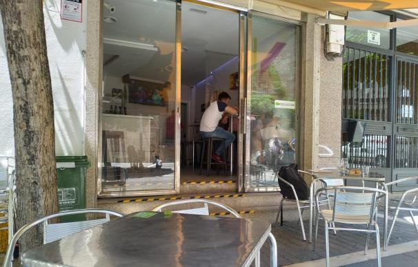 Un bar de Mérida
