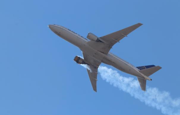 Boeing 777 accidente motor EEUU avión