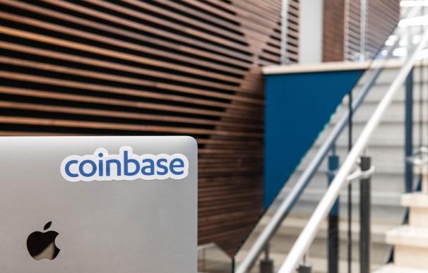 Coinbase, el mayor mercado de criptomonedas.