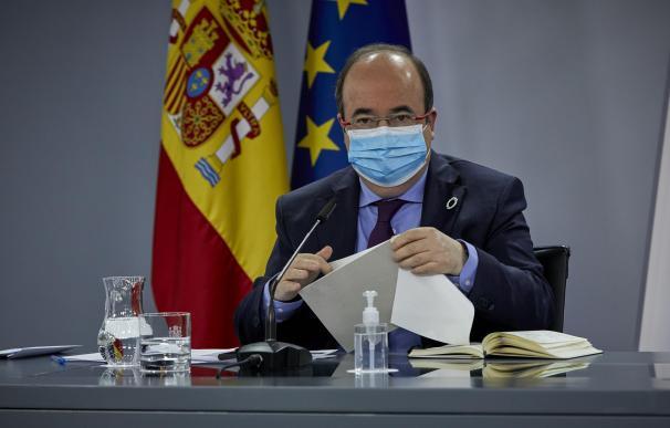 El ministro de Política Territorial y Función Pública, Miquel Iceta.