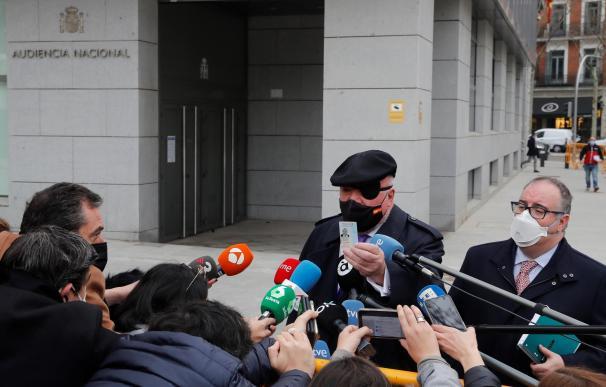 Villarejo en la Audiencia nacional para testificar en el caso 'Tándem'