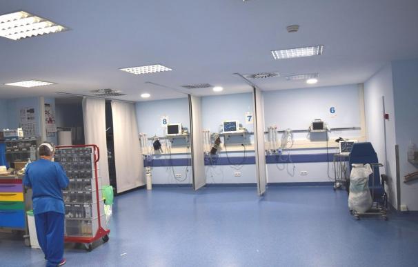 Imagen del interior del Hospital Príncipe de Asturias de Alcalá de Henares.